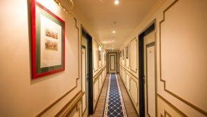 Couloir chambres Villa Aultia