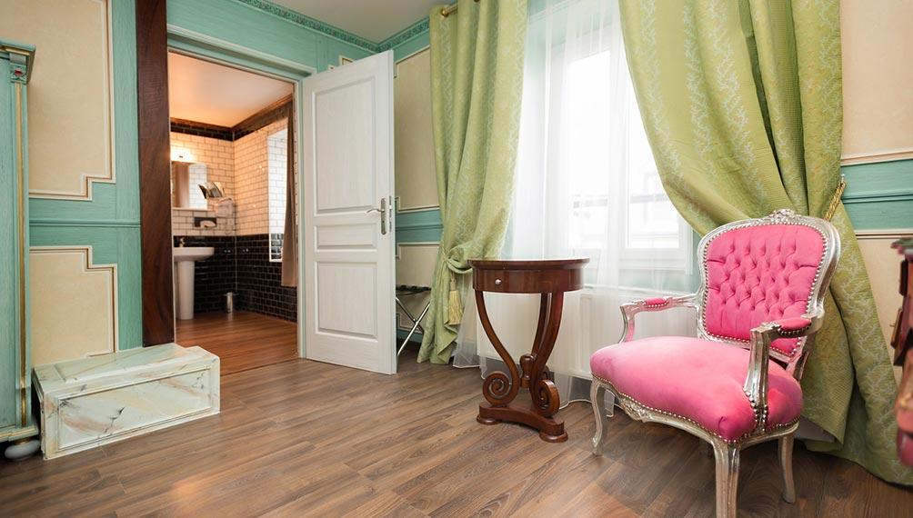 Suite Art nouveau - Salon